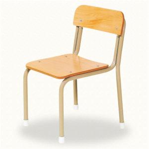園児用椅子スタック式 S-19-B(背板付)